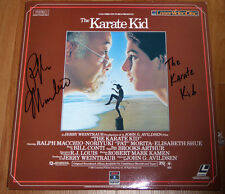 Ralph Macchio Authentic Signed The Karate Kid Laser Disc Autographed w/ Proof