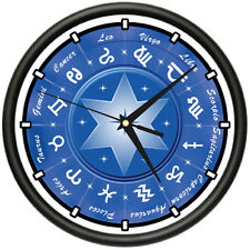 ZODIAC Wall Clock astrology sign star gift
