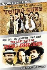 Young Guns/The Last Days of Frank and Jesse James (DVD, 2007)