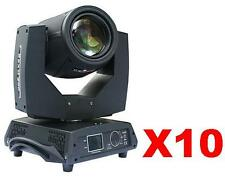 10pc New 230W DMX Yodn 7R Beam moving head light +5 Dual Case Free Sea Shipping