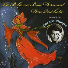 1240 LA BELLE AU BOIS DORMANT / DON QUICHOTTE RACONTE PAR GERARD PHILIPE CD NEUF