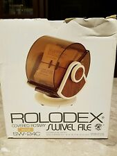 Vintage Rolodex Covered Rotary Swivel File, 500 Cards Never Opened, NIB SW-24C
