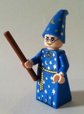 LEGO Harry Potter - Custom Harry Potter - Blue Wizard Robe - Mini Figure