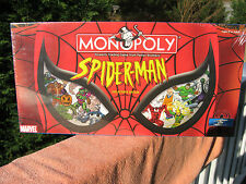 Monopoly Spider-Man Collector's Edition 2002~New & Factory Sealed!