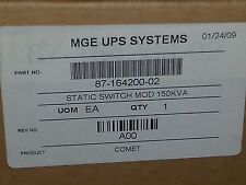 MGE Comet 125 - 150 Kva static switch Mod brand new factory sealed 87-164200-02
