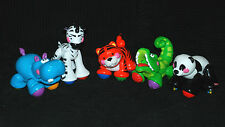Fisher Price Bundle of 5 Amazing Animals inc Tiger Panda Hippo, Zebra, Crocodile