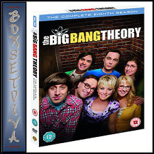 THE BIG BANG THEORY - COMPLETE SEASON 8 ***BRAND NEW DVD***