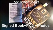 SIGNED The House of Secrets by Brad Meltzer Tod Goldberg 2016 autographed new