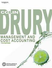 Management and Cost Accounting by Colin Drury (Paperback, 2007) 7th edition