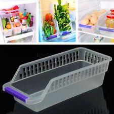 Kitchen Refrigerator Storage Rack Box Vegetable Fruit Organizer Container Basket