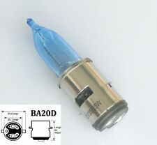 BA20D H6 35/35w Motorcycle Halogen LED Headlight Light Lamp Bulb White 12V
