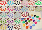 20PCS Big Satin Ribbon Rose Flower DIY Craft Wedding Appliques 22 colour U pick