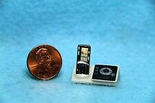 Dollhouse Miniature Cordless Phone with Answering Machine Base ~ G8055