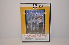 Golf Channel - David Leadbetter's Four Ways To Shoot Lower Scores (DVD, 2006)