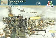 Italeri 1/72 (20mm) WWII German Infantry (Winter Uniforms)