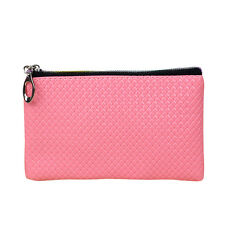 Portable Women Fashion Leather Wallet Zipper Clutch Purse Lady Long Handbag Bag