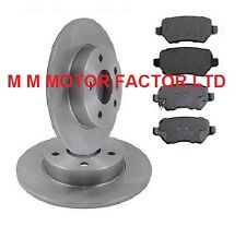 Vauxhall Astra Mk5 H|(2004-| All Models Rear Brake Discs & Pads