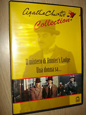 DVD IL MISTERO DI HUNTER'S LODGE UNA DONNA SA AGATHA CHRISTIE COLLECTION MALAVA