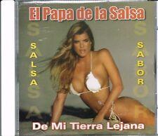 EL PAPA DE LA SALSA    DE MI TIERRA LEJANA  BRAND NEW SALED  CD