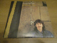 "George Harrison ‎– All Those Years Ago  Vinyl 7"" Single UK1981 DARK HORSE K17807"