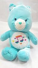 "Care Bear HeartSong 9"" Plush Stuffed Music Note ( See Condition)"