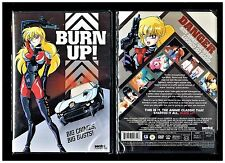 Burn Up! - Complete OVA Series - Brand New Anime DVD, 2009 Sentai Filmworks