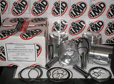 "ARIEL SQUARE FOUR 4G MKI & MkII 1000cc PISTON KITS NEW +0.20"" O/SIZE"