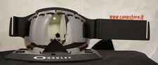 OAKLEY CANOPY BLACK IRIDIUM LENS LENTE MASCHERA SKI SNOWBOARD NEW