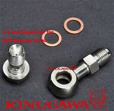 Turbo Oil Feed Banjo Bolt Kit Garrett GT3071R GT3076R GT3582R GT3037 GT3540 Ball