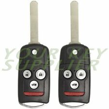 2 Keyless Entry Remote Flip Keys With Switch Blade Replacement for MLBHLIK-1T