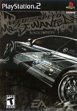 Need for Speed: Most Wanted - Black Edition - Playstation 2 Game Complete