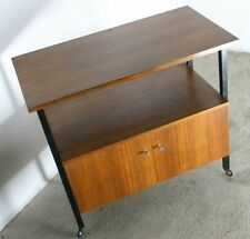 60er 70er JAHRE HIFI RACK+TV+VINTAGE+DESIGN+DANISH TEAK OPTIK+TISCH+ABLAGE REGAL