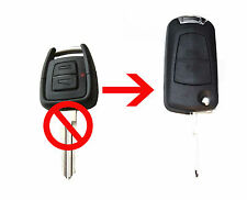 Fits Vauxhall Opel Holden Astra Astra Zafira 2 Button CONVERSION Flip Remote Key