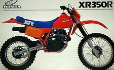 Factory 1983 Honda XR350R Pro-Link Pro Link decal stickers AHRMA Vinduro Works