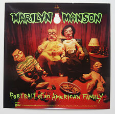 "MARILYN MANSON Portrait Of An American Family PROMO Poster Never Hung 27""x27"""
