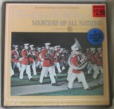 Longines Symphonette Society Marches of All Nations 1974 Sealed 3 LP Box Set