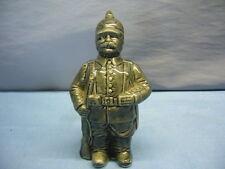 alte Spardose in Form eines Soldaten aus Biskuit Porzellan