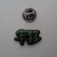 Video Game F13 Stephen King BLUE BYTE Software TINY Promo METAL PIN BADGE Pins