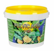 Fulvic Acid Fertiliser 500g Fulvate Organic Fertilizer Potassium Iron SREDA