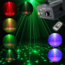 Full Color RGB Stage Laser Light Patterns Laser LED DJ Xmas Disco Party Pub Lamp