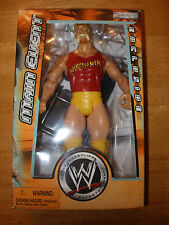 WWE Hulk Hogan Jakks Superstars Wrestling Figure WWF Main Event Exclusive MOC
