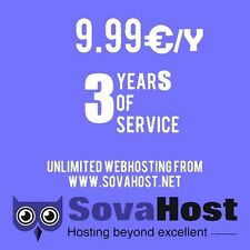 One payment for 3-year unlimited hosting with cPanel and Softaculous