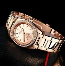 KENNETH COLE LADIE'S ROSE GOLD CRYSTALS SECOND DIAL WATCH KC4791