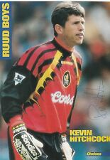 KEVIN HITCHCOCK CHELSEA 1988-2001 ORIGINAL HAND SIGNED MAGAZINE CUTTING