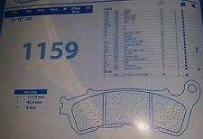 1159A3 PASTIGLIE ANTERIORE CARBONE LORRAINE HONDA XL 700 TRANSALP '08