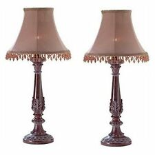 2 Bedazzled Lamps Casual Lovely Small Lamp - Set of two