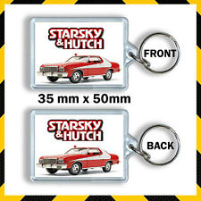 STARSKY AND HUTCH -CULT TV DAVID SOUL - PAUL MICHAEL GLASER KEYRING 1