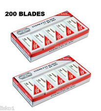 Dorco ST301 Platinum Extra Double Edge Razor Blades (200 blades)