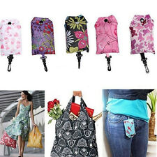 Foldable Shopping Bag Reusable Tote Pouch Recycle Storage Grocery Handbags