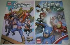 AVENGERS 1 & 2 DORITOS CUSTOM EDITIONS (Marvel 2015) Reprints 58 & 202 (VF) RARE